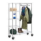 Honey-Can-Do® Heavy Duty Urban Valet Closet Storage System