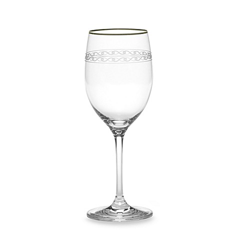 Mikasa® Infinity Band Platinum 11 3/4-Ounce Wine Glass