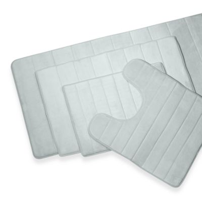 Microdry® Ultimate Luxury Memory Foam Contour Mat in Blue