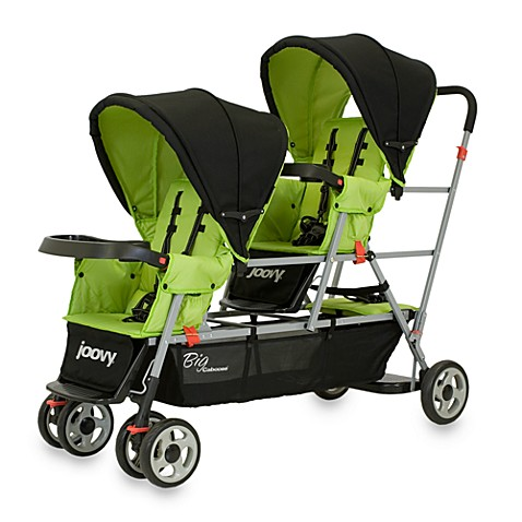 Joovy® Big Caboose Stand-On Triple Stroller in Appletree
