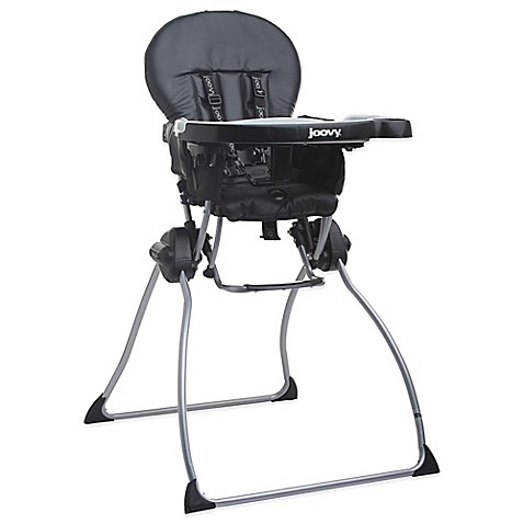 Joovy® Nook™ High Chair in Black Leatherette