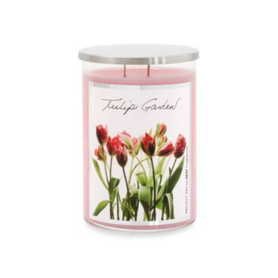 Project Art 22-Ounce Tulip Garden Scented Candle by NEST