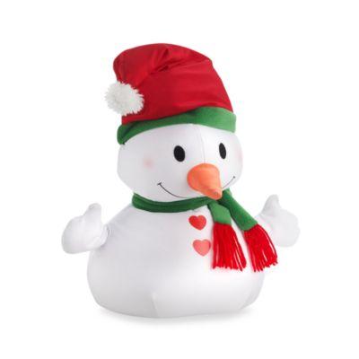 Moshi Christmas Toss Pillow Characters - Snowman