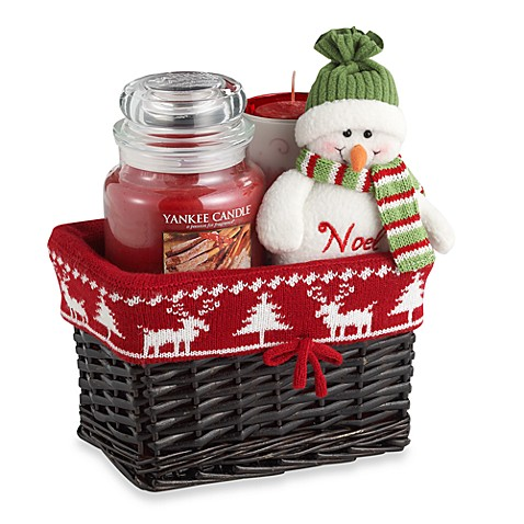 Yankee Candle 174 Sparkling Cinnamon Wicker Basket Gift Set
