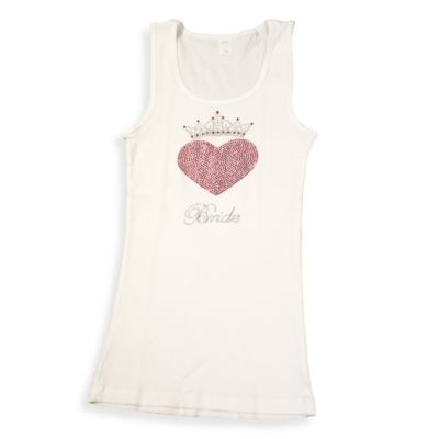 """Bride"" Crown Medium Tank Top"