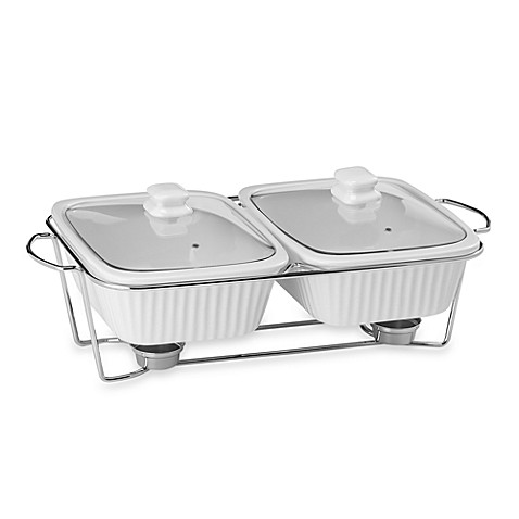 Twin Bake Amp Serve Food Warmer Bed Bath Amp Beyond