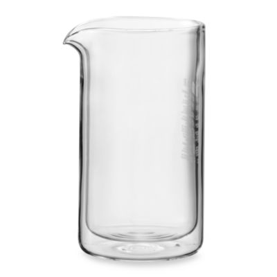 Bodum Chambord 8-Cup Double Wall Glass French Press Coffee Maker Replacement Jar - Bed Bath ...