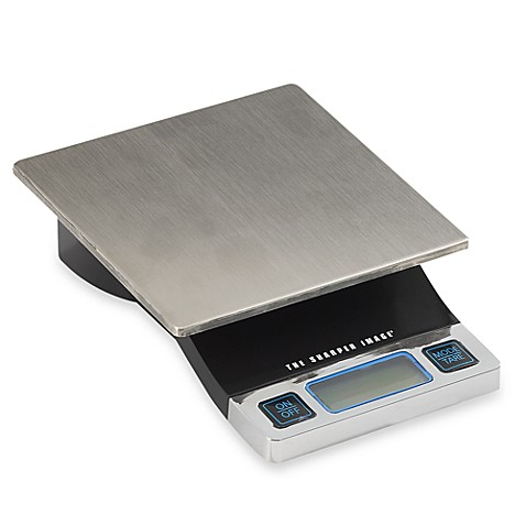 Bed Bath And Beyond Sharper Image Food Scale