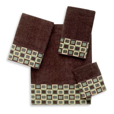 Avanti Java Blocks Fingertip Towel