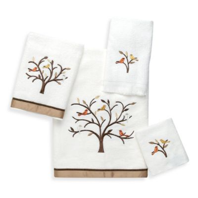 Avanti Friendly Gathering Hand Towel