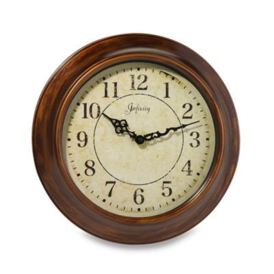 Infinity Instruments Metal 14-Inch Wall Clock