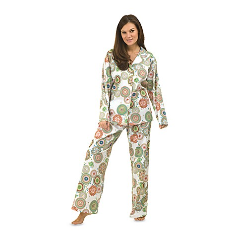 BedHead Kaleidoscope Sateen Pajamas - Medium (8-10)