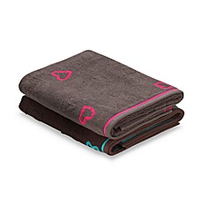 DKNY Sweetheart Bath Towels, 100% Cotton