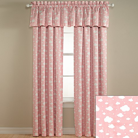 Lightcatcher Pink Clouds Window Valance