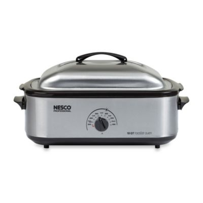 Nesco® 18-Quart Stainless Steel Roaster