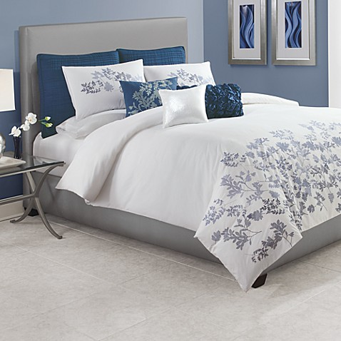 Blue Meadow King Sham