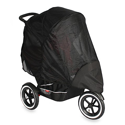 phil&teds® UV Sunny Days Double Stroller Mesh Cover
