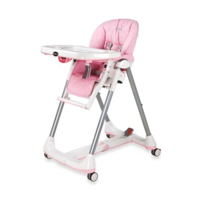 Peg Perego Prima Pappa Diner High Chair in Savana Rosa