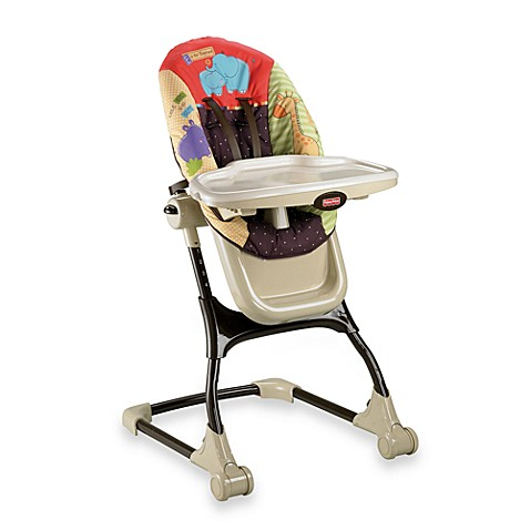 Luv U Zoo EZ Clean High Chair By Fisher Price Bed Bath