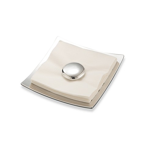 Buy nambe stone napkin holder from bed bath beyond for Bathroom napkin holder