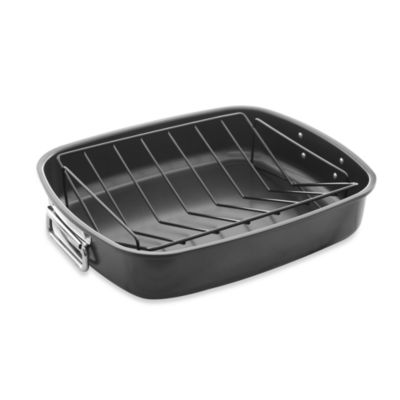 Gourmet Nonstick Roaster with V-Rack