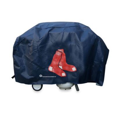 MLB White Grill Cover