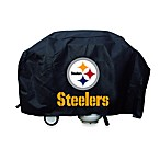 Pittsburgh Steelers Deluxe Barbecue Grill Cover