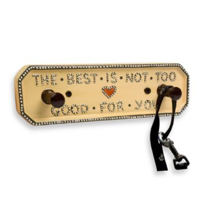 "Artland Pet ""Good for You"" Leash Rack"