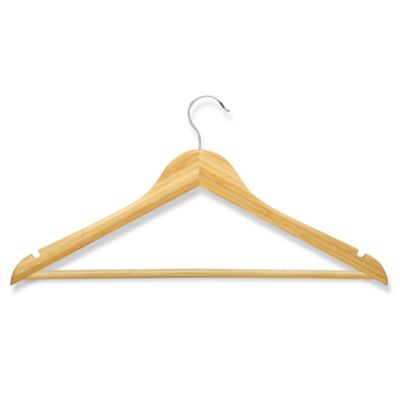 Honey-Can-Do 4-Pack Wooden Suit Hangers