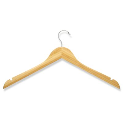 Honey-Can-Do® 5-Pack Wooden Shirt Hangers