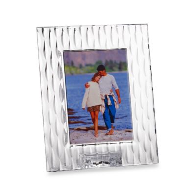 Marquis® By Waterford Rain fall 5-Inch x 7-Inch Frame
