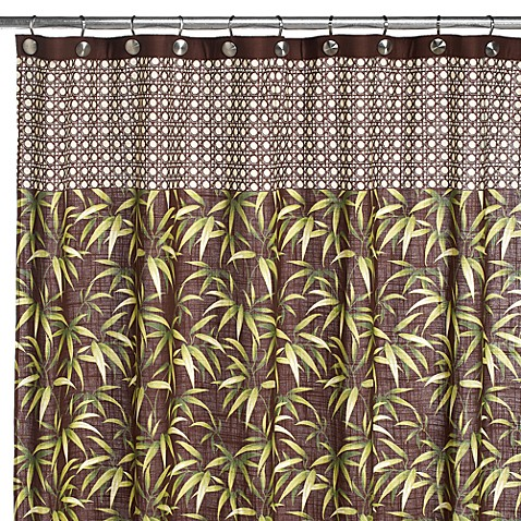 Tommy Bahama Tropical Fabric Shower Curtain Bed Bath Beyond