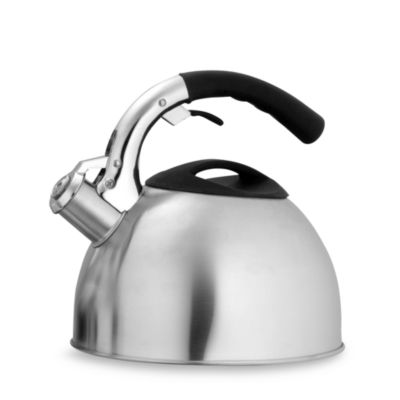 Ellipse 2.8-Quart Stainless Steel Whistling Tea Kettle