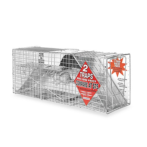 Advantek Catch & Release Animal Traps (Set of 2)