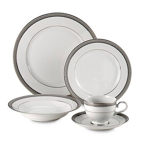 Mikasa 174 Platinum Crown Dinnerware Set Www