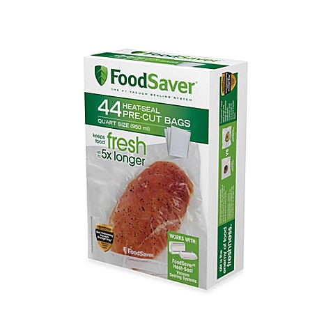 FoodSaver® One-Quart 44-Pack Vacuum Packaging Bags