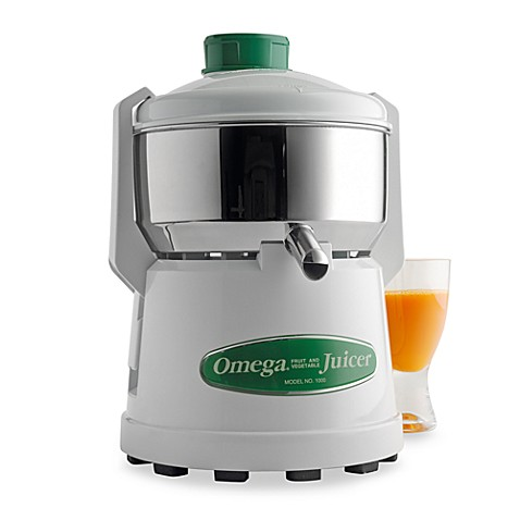 Omega® Stainless Steel Juicer