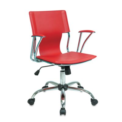Avenue Six Dorado Office Chair in White