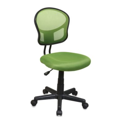 Office Star Products Mesh Task Chair in Green