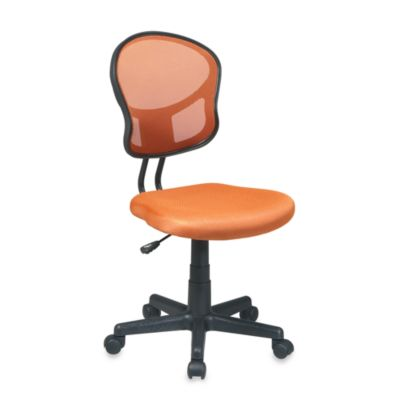 Office Star® Products Mesh Task Chair in Orange