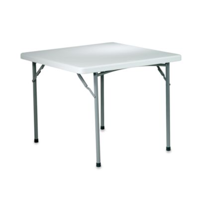 Resin Folding 36-Inch Square Table