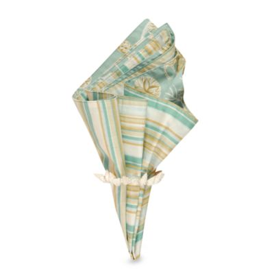 Natural Shell Reversible Napkin