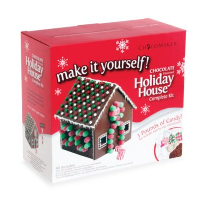 Chocolate Holiday House Kit
