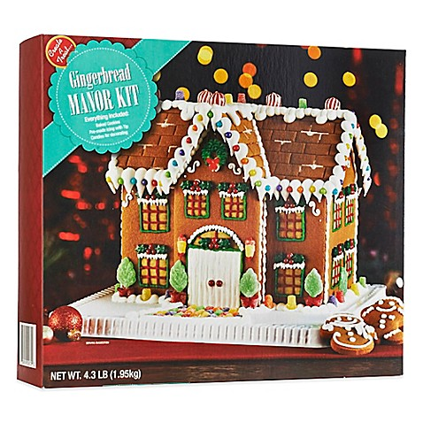 The Manor Gingerbread House Bed Bath And Beyond