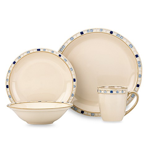 Dansk® Compass 16-Piece Dinnerware - Blue
