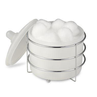 Wire Ware Cotton Ball Jar