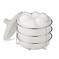 Wire Ware Cotton Ball Jar