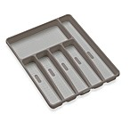 Made Smart® Six Compartment Cutlery Tray in Grey