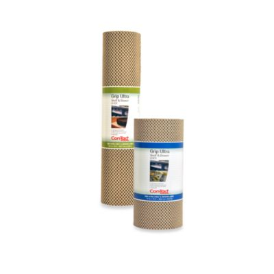 Con-Tact® Grip 12-Inch x 15-Foot Ultra Shelf Liner in Stone