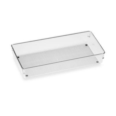 InterDesign® Linus Acrylic 6-Inch x 12-Inch Drawer Organizer